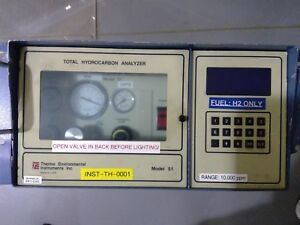Thermo Environmental Instruments Inc Model 51 Total Hydrocarbon Analyzer