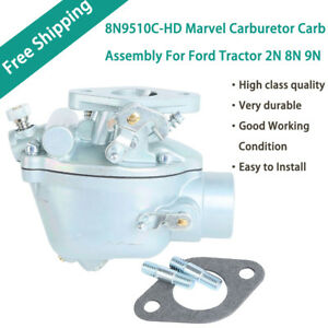 New 8n9510c hd Marvel Carburetor Carb Assembly For Ford Tractor 2n 8n 9n