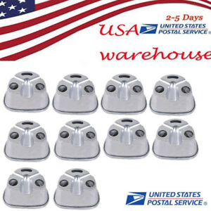 10xusa Aluminum Duplicating Flasks For Dental Compressor Dental Lab Equipment