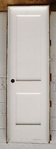 3 Avail Pre Hung 24 X80 Antique Vintage Interior Wood Wooden Door 2 Panel Frame