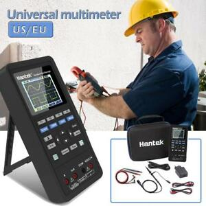 Hantek 40mhz Handheld 70mhz 3 In 1 Oscilloscope Waveform Generator Multimeter
