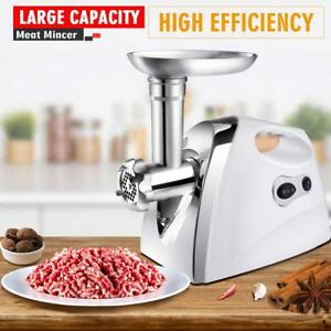 2500w Electric Meat Grinder Mincing Machine Sausage Stuffer Heavy Duty Ma
