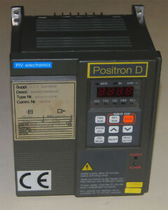 Piv Electronics Positron D Vfd variable Frequency Drive 75kw 1hp