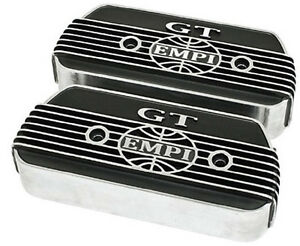 Empi 8854 Empi Gt Bolt On Alum Valve Covers Vw Buggy Bug Thing Ghia Engine Parts
