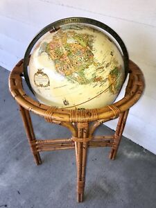 Replogle 16 Floor Globe World Classic Series Raised Relief Topographical 38 T