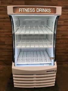 2016 Beverage air Bz13 1 w White Commercial Drink Grab n go Refrigerator