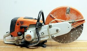 Stihl Ts 800 Gas Powered Cutquik Cut Off Saw 16 With Used Blade Pre owned
