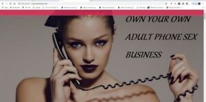 Own Your Own Phone Chat Website For Sale Work At Home Money Making Online