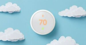 Factory New Learning Wifi Programmable Thermostat E Control T4000es Sealed white