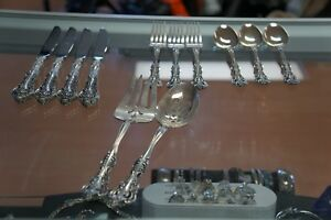 Michelangelo By Oneida Sterling Silver 12 Pieces
