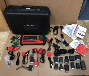 Snap On Eesc310 Solus Scanner Diagnostic Tool With Accessories