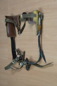 Buckingham Mfg 26 Spiked Climbing Spurs Trea Climbing Mountain Climbing Etc
