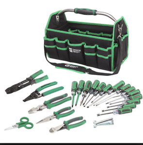 Tool 22 Piece Electrician Set S Bag Pliers Kit Screwdriver Tools Electrical Hand