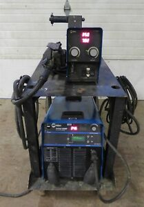 2010 Miller Invision 456mp Pulsed Mig Tig Stick Welder S 74d Wire Feeder