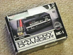 New Schumacher Car Motorcycle Battery Charger 6 12 V High Power 1 Amp Trickle