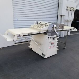 Champion Cw801 Reversible Bakery Pastry Pizza Dough Sheeter Clean