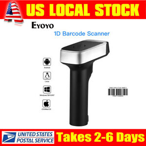 Eyoyo Portable 2 In 1 Wired wireless Barcode Scanner For Android Tablet Computer