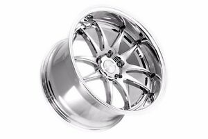 18x9 5 18x10 5 Aodhan Ds2 5x114 3 15 Vacuum Chrome Rims Fits Ford Mustang