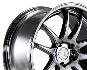 18x9 5 18x10 5 Aodhan Ds2 5x114 3 22 Black Vacuum Rims For G35 Coupe 350z Supra