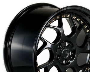 18x10 5 Aodhan Ds01 5x114 3 22 Gloss Black Non staggered set Of 4