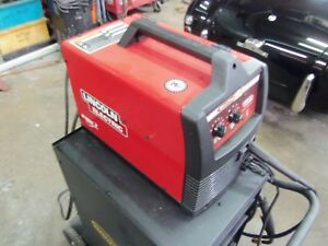 Lincoln 180 Amp Heavy Duty Mig Welder 230v Portable Wire Feed Weld pak W extras