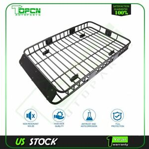 Universal 64 Roof Rack Extension Cargo Top Luggage Hold Aluminum Carrier