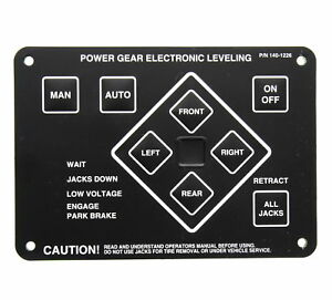 Power Gear Electronic Leveling Touch Pad Series 140 1226