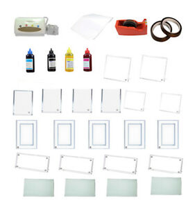 Crystal Photo Frame Thermal Paper Heat Resistant Tape Sublimation Ink Transfer
