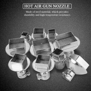 10pc Heat Gun Nozzle For 850 Hot Air Soldering Station Repair Tool Accessory