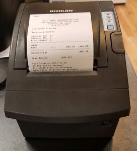 Bixolon Srp 350plusii Point Of Sale Pos Thermal Printer Samsung Power Supply Usb