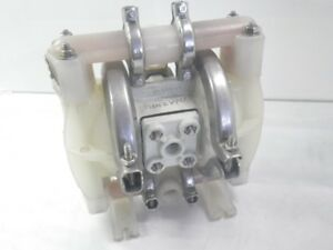 Phazyme wilden 3 4 Diaphragm Pump M1 Polypropylene used Tested Gd Condition