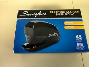 Genuine Swingline Speed Pro 45 Jam free Electric Stapler Up To 45 Sheets New