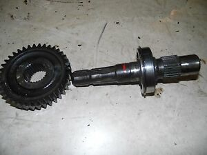International 674 Tractor Pto Shaft And Gear
