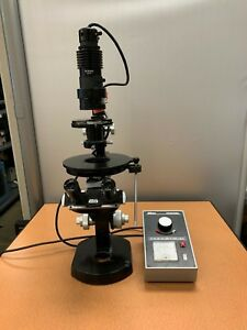 Nikon Inverted Microscope 45127 With Power Transformer Eyepieces And