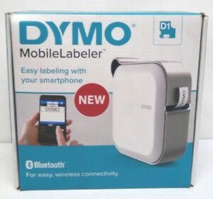 Dymo Mobilelabeler Label Maker W Bluetooth Smartphone Connectivity 1982171 New