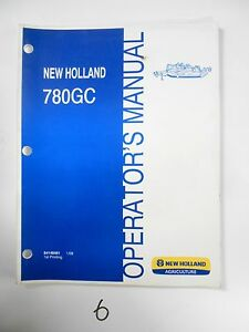 New Holland 780gc Flex Wing Rotary Mower Operator s Owner s Manual