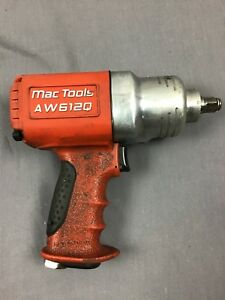 Mac Tools Aw612q 1 2 Drive Quiet Composite Air Impact Wrench Nice See Pictures