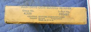 Nos 1931 37 Chevy Truck Transmission Front Bearing Retainer Gear 590481 Bin28