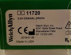 Welch Allyn 3 5v Coaxial Ophthalmoscope 11720 New Factory Sealed