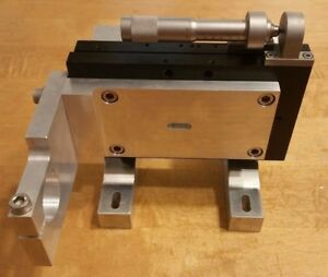 Newport M 436a Low profile Linear Stage Aperture 50 8 Mm W driver
