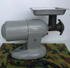 Vintage Enterprise Electric Meat Grinder 1 2 Hp