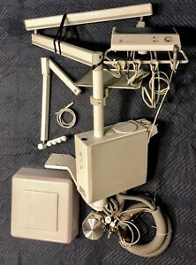 Dentech Delivery Unit Cm410a Post Mount Over The Patient Dental Delivery