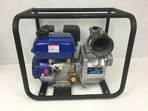 3inch Powerful Portable Water Pump 6 5 Hp Gas Engine Runs Great 263 Gpm