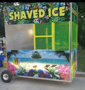 All New 8 Shaved Ice Building W Snowie 3000 Save Before Price Increase