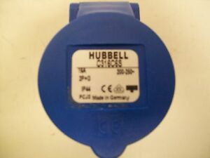 Hubbell C316c6s Pin And Sleeve Products C iec Connector 2 Pole 3 Wire 16