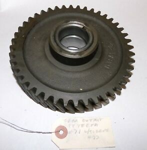 Oliver 1650 1655 2 78 4 78 Tractor Transmission Gear 102475a 156261a Sleeve