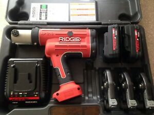 Ridgid Rp210b Propress 1 2 1 Jaws Copper Crimper Press Tool Rigid Viega