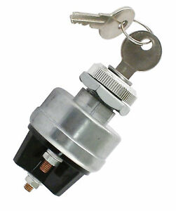 Empi 9306 Universal Ignition Switch 2 Keys 6 12 Volt Vw Buggy Bug Hot Rod Baja