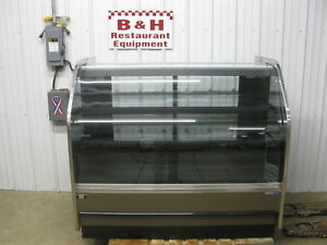 Barker 5 Remote Curved Glass Donut Bakery Dessert Display Case Blf59r