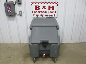 Cambro Portable Mobile Catering Under Bar Ice Well Bin Ics100l